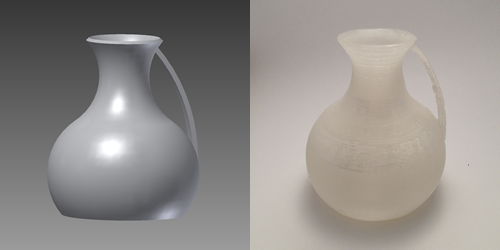 Mini Pitcher 3D Design