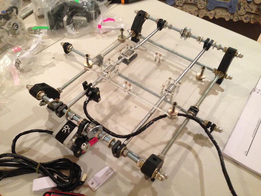 RepRap Prusa Mendel Printer Base
